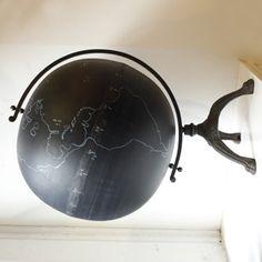 Giant Chalkboard Globe