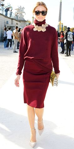 Two Piece Dress with a Sweater. Fluid Jumper. GREAT way to wear a pencil skirt.
