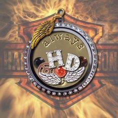 Harley Davidson Origami Owl Living Locket    CourtneyMasters.O...