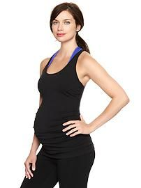 Cute maternity exercise clothes to inspire her to keep moving through her pregnancy.