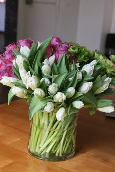 tulips and rose cent