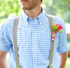 Oh my goodness. I know some men that would love this- boutonniere made out of a shotgun shell.