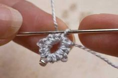Step by step tutorial for crotat beading