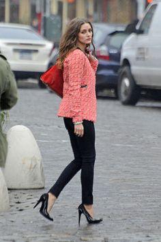 style copycat, textur blazer, sophist blazer, style snatch, fashion iii, olivia palermo