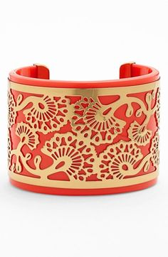 A dash of red for July 4th   Tory Burch cuff