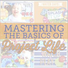 Mastering the Basics of Project Life by Amanda Yi for Traci Reed Designs
