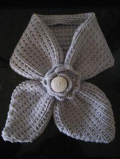 Anthro-Inspired Scarflet - free crochet pattern