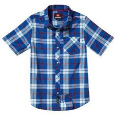 Quiksilver Baby-boys Infant Four Door Woven Shirt