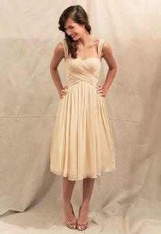 Fashion with spaghetti straps dress