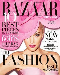 Gwen Stefani Harper's Bazaar September 2012 Cover