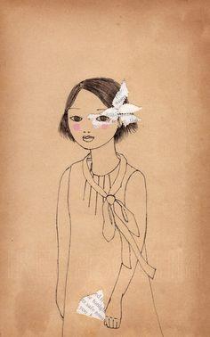 Print of original drawing by Irena Sophia