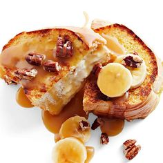 Warm sweetened cream cheese fills this recipe for Best Stuffed French Toast.