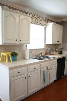 Life at our house: The Kitchen Details (cabinet makeover)