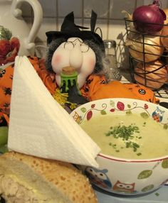 Potato, Leek and Brussels Sprout Soup