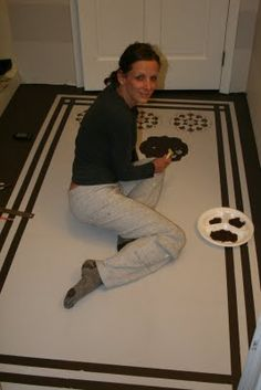 How to Paint a Floor (DIY painted rug) | DIY Show Off ™ - DIY Decorating and Home Improvement Blog