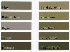 Palettes on pinterest color palettes design seeds and for Peintures flamant nuancier