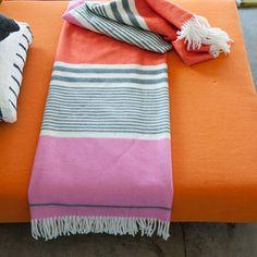 Sarasota Wool & Acrylic Mix Blanket | Designers Guild USA