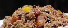Haitian Rice and Red Beans