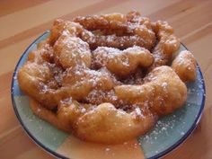 Funnel Cakes , Mennonite recipe
