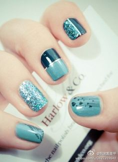 color, nail designs, nail art designs, manicur, nail arts, finger, green nails, art nails, blue nails