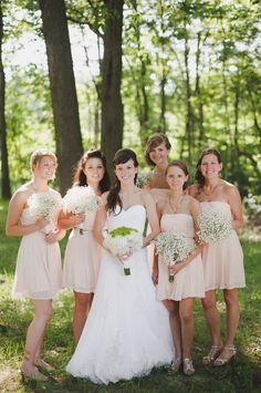 Great bridesmaid dresses!
