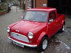 car, vintage mini cooper truck, mini pickup, mini cooper vintage, mini coopers