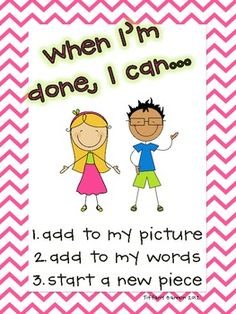 Writer's Workshop Mini Posters.  I like how they are simple the posters are.  Easy for students to read and follow.
