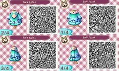 cute animal crossing new leaf qr codes link