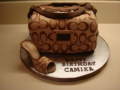 coach bag cake | Flickr - Photo Sharing!