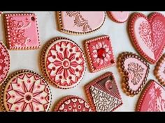 How to Stencil a Cookie (The Basics) - YouTube