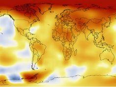 Vídeo: Mais de um século de aquecimento global em 26 segundos