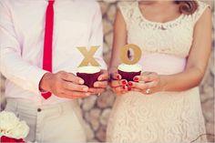 dessert tables, cupcak idea, valentine day, wedding ideas, weddings, xoxo cupcak, valentine ideas, holiday idea, valentine cupcakes