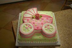 girl's baby shower cake idea