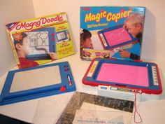 1990s Magna Doodle and Magic Copier set, $94.99 | 28 Toys From Your Childhood That Are Now Worth Bank