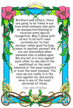 Quote from Elder Jeffery R. Holland