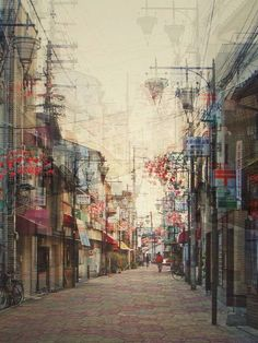 Multiple Exposure photographs by Stephanie Jung
