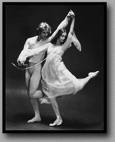 Chaconne with Peter Martins and Suzanne Farrell
