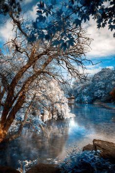 ~~St. Stephen's Blue ~ cold winterscape, Dublin, Ireland by somadjinn~~
