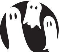 craft fallhalloween, ghost pumpkin, carv templat, halloween pumpkins, 24 halloween