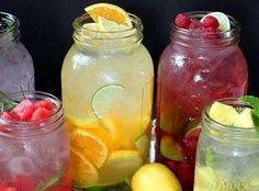 Fruit & Herb Flavored Water So many of you responded to the picture post on Facebook, that we decided to post the recipe for you!! Recipe credit: Monica Matheny