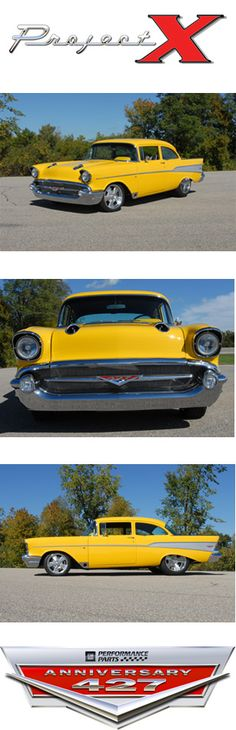Project-X 1957 Chevy Bel Air