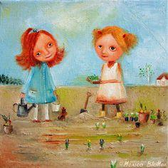 Little Gardeners (Monica Blatton)