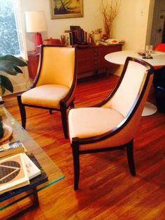 Slipper chairs $350/pair