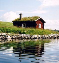 This cottage is found in Storsjö in the province of Härjedalen. Sweden.