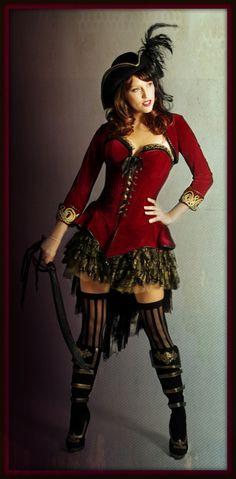 Velvet Pirate Girl costume...