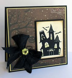 With a Stamp and a Song: GRS Ghostly Greetings