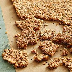 Coconut Chia Oat Squares | More breakfast recipes: http://www.bhg.com/recipes/healthy/breakfast/heart-healthy-breakfast-recipes/#page=3 #myplate