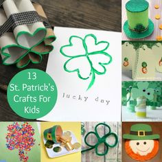 You're in Luck: 13 St. Patrick's Day Crafts for Kids - diycandy.com