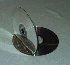 DIY cd bookends tutorial