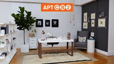 The final Office look for today by Caitlin Flemming, Master Bedroom starts at 12 tomorrow, join in on the fun! #APTCB2